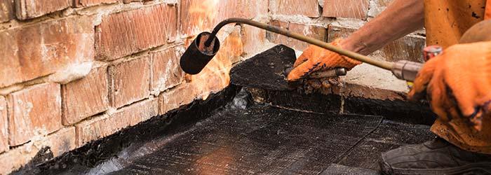 bitumen dakbedekking Geel